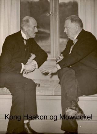 Kong Haakon med Mowickel