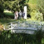 Romantisk bro bygget av ektemann