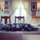 Blomsteroppsett hovedbord