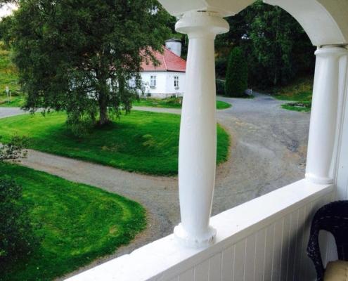 Utsikt fra Moldegaardsuiten