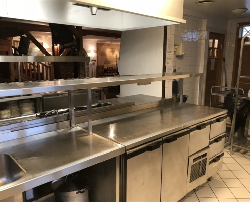 Utsikt fra kjøkkenet